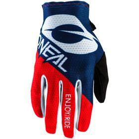 O'Neal Matrix Handschoenen Villain, blauw/rood